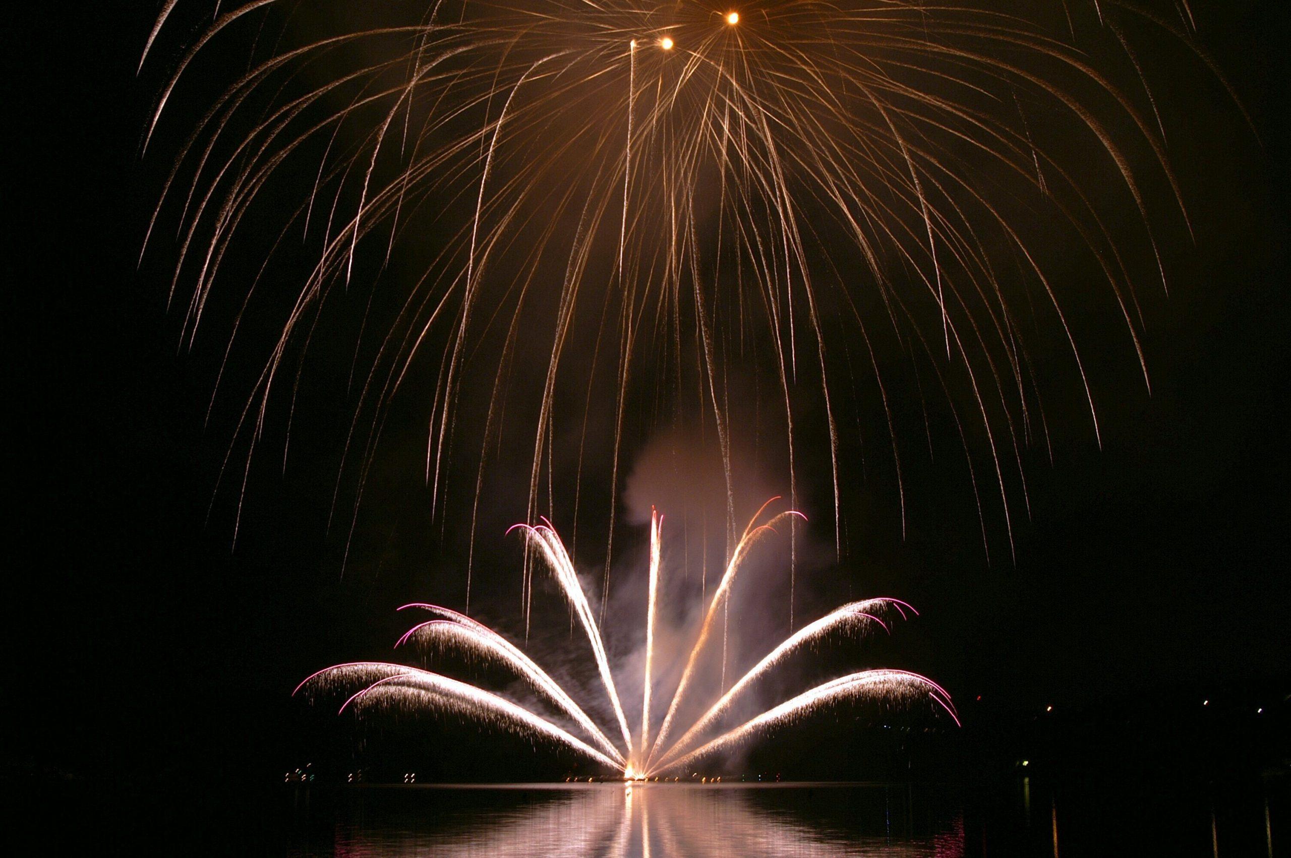See - Feuerwerke