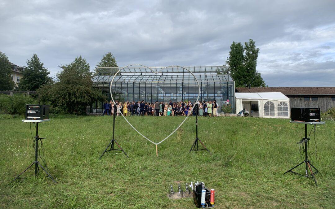 Flammenshow Hochzeit Orangerie Bad Endorf 17.08.2019
